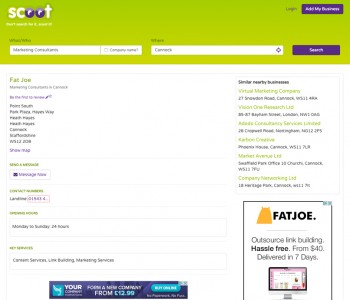 Scoot Directory Example