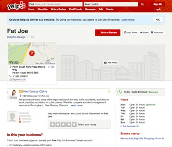 Yelp Directory Example